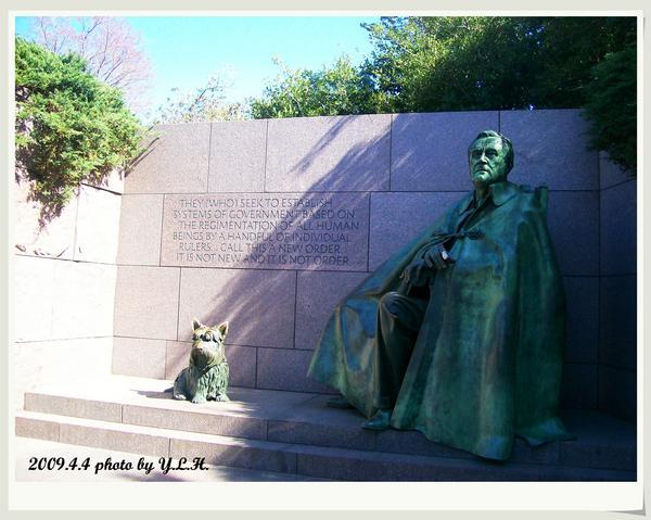 羅斯福銅像