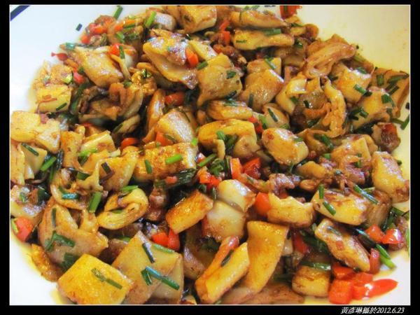 櫻花蝦醬炒粿條