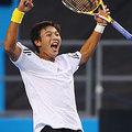 中華網球選手 盧彥勳 首度於大滿貫賽 邁入 第三輪 32強