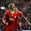 利物浦射手9號Torres 慶賀進球