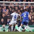 2010.3.17國際米蘭9號前鋒Eto'o 客場進球 淘汰切爾西