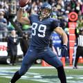 20110109西雅圖海鷹 89號接球手John Carlson完成2次接球達陣