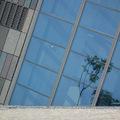 九九年八月盛暑 宜蘭蘭陽博物館  博物館在烏石港旁 幾個月後一艘歐洲古船就遠渡重洋停泊在港內 港外一水之隔就是龜山島