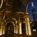 台北的夜是那樣的迷人...