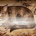 通宵媽祖廟的貓畫(1965), 石岡劉昌洲