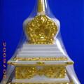 以前在密宗道場請回來的佛塔,自己貼的金箔!