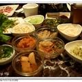 20090104韓國餐廳-木槿 - 各式小菜