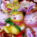 慶百年、百兔集 #13 妖嬌美麗三姊妹兔