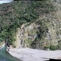 省道台7線,榮華壩,漂亮的地質,為乾溝層
