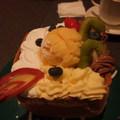 像生日蛋糕的麵包蛋糕