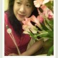 2008 母親節 和女兒送的花合影