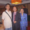 2008十月夏威夷國安會館來台參加十月慶典,國安會館透過僑委會的安排,前兩日的聯誼由中華民國國際洪門總會接待.