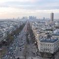 凱旋門瞭望台俯瞰巴黎