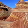 地處Utah & Arizona 交界,夾在錫安國家公園及羚羊峽谷之間,叫土狼坡(coyote buttes),又稱波浪岩(the Wave)。
