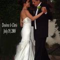 我的小公主和她的王子在2008年7月19日結婚。