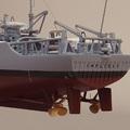 MSO 遠洋掃雷艦 艦尾 http://www.oz.stu.edu.tw/mdc/mdc/navy/rocnavy/MSO1306.htm