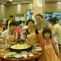 韓國大餐之一---   富美.靜江.家若.庭宇