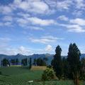 夏季福壽山,藍天白雲青山,涼爽宜人的溫度.
