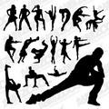舞蹈的線條如雕刻家的刀 想要輕盈 學相片的姿勢 舞動靈魂