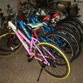 這每一台腳踏車都是爸爸自己組裝的