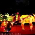 (205)鹿港燈會2012-北燈區之蔬果一牛車花燈