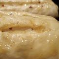 焦糖栗子醬鄉村麵包 發酵完畢 進烤箱前 表面塗上一層亮亮的麥芽糖漿 算是敷個臉吧? ^^