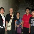 周聯華牧師和張天宇全家合影 2010年夏