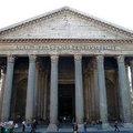 萬神殿 (Pantheon) 是羅馬神廟的代表作