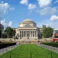 哥倫比亞大學位於紐約曼哈頓的晨邊高地Morningside Heights,在紐約中央公園北面