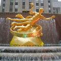 洛克斐勒中心是紐約相當著名的地標