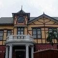 台北故事館位於中山北路台北市立美術館旁