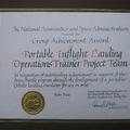1994.05.19 因回航模擬程式所得的獎狀