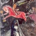象徵-馬克 夏卡爾的作品「紅馬兒」於1938-44年完成,現收藏拉南特的美術博物館。其實夏卡爾畫中奇妙的動物們,不僅僅只是住在魔法的世界裡。譬如說這匹馬便真實的喚起戰爭可怕的氣氛,而這樣的氣勢則是因為紅、藍、綠等對比色彩的應用