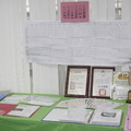 台北市救國團南港區評鑑資料,橫幅的義工出席紀錄表用心堪稱本次評鑑之最