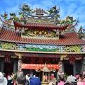 2011北台灣媽祖文化節,11月12日在新竹縣竹北市天后宮前活動及遶境踩街即景。