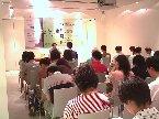 這是林水福老師在誠品信義店~文學八月天講座演講!