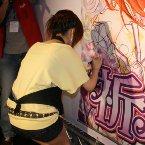 漫博最後一場簽名會,由尖端出版所舉辦米絲琳老師的《祈願花芬芳飄香》簽名會活動。