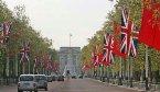 胡錦濤訪英時的倫敦街景