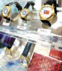 國民黨中央委員會大樓一樓販賣部專賣大陸旅客的商品,據說生意不惡。