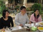 2007年12月16日活動,應梁明輝大哥熱情邀約,郭漢辰、李實強、歐陽慧英、許瑞君、藍惠敏等人到高縣梁明輝家做客,他帶大家到植物園餐廳吃飯,到高屏溪賞鳥。