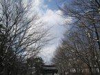 在韓國往神興寺的路上,覺得好似進入另一時空,散發古典香氣