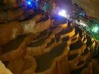 雲南-九鄉風景區-天然溶洞內之梯田景觀