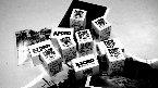 黑白沖片就是黑白底片拍完後我們把底片放到沖片罐裡加入各種藥水搖一搖然後顯影,就是一條一條的黑白底片了