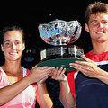 2013.1.27  澳網混雙 冠軍 左Gajdosova 及 Ebden
