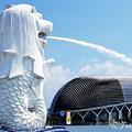 新加坡魚身獅頭噴水