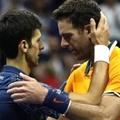 2018 美網男單冠軍 左 Djokovic  及  亞軍阿根廷 Del Potro   .jpg