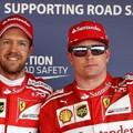 法拉利車隊 ferrari 左 Vettel 右 Raikknoen-1 .jpg