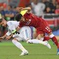 2018 歐冠決賽 皇馬隊長 Ramos 的 剪刀手 傷害 Salah .jpg