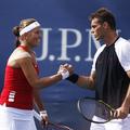 捷克網球選手 Lucie Hradecka and Frantisek Cermak