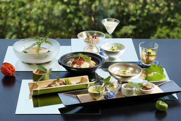 日勝生加賀屋夏季料理 為炎熱夏天帶來清涼感受